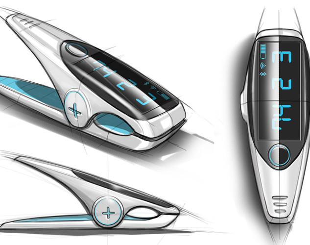 Smart clip concept image 1 – Product design by Sebbahi Solutions Ltd.