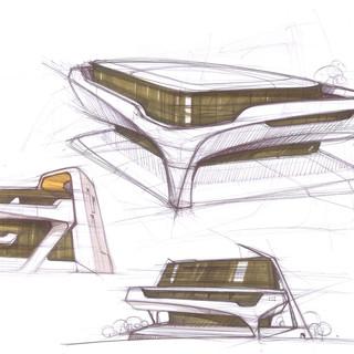 Concept Building Design # 01 – Architectural design by Sebbahi Solutions Ltd.