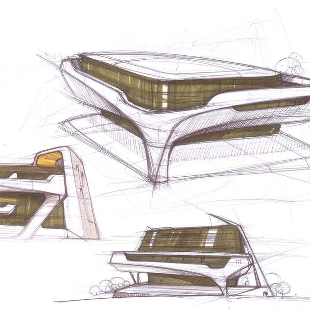 Concept Building Design # 01 – Architectural design by Sebbahi Solutions Ltd.