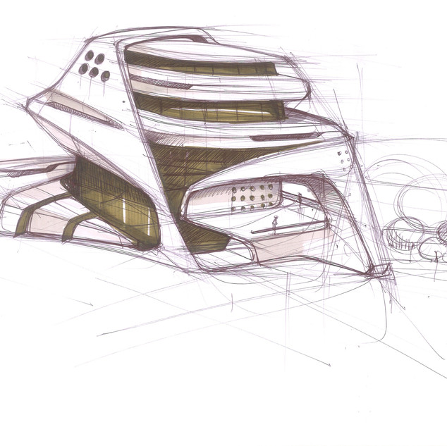 Concept Building Design # 05 Image 1 – Stunning Architectural Design by Sebbahi Solutions Ltd.