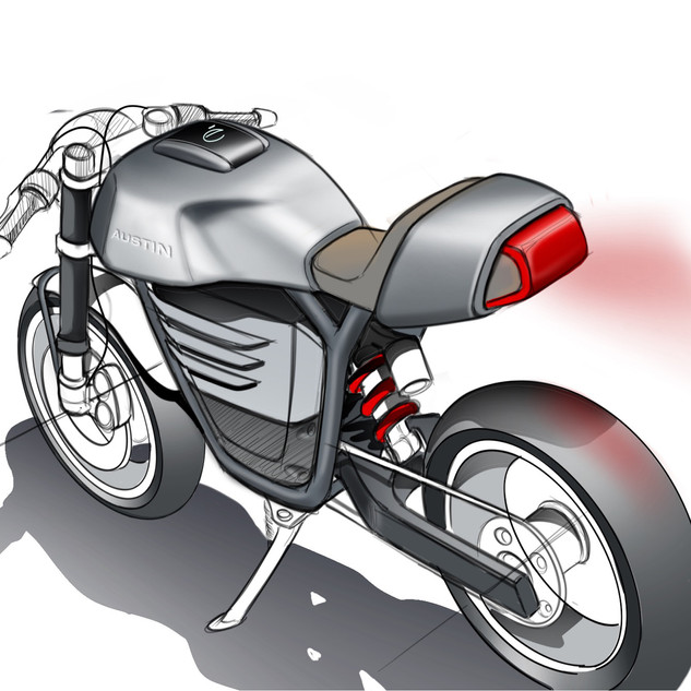 Electric Bike Concept Design image 2