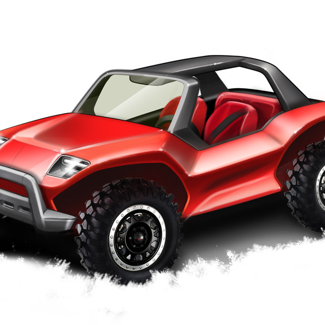 Buggy Concept Design image 1 - Designed by product designers of Sebbahi Solutions