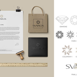 SVARCIS Product and Logo Design – Mock Up Image 2