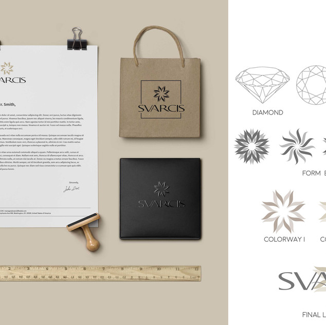 SVARCIS Product and Logo Design – Mock Up Image 2