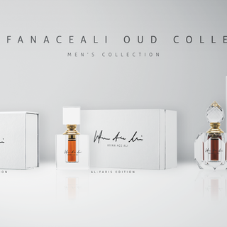 The IrfanAceAli Oud Collection for Men – Designed by Sebbahi Solutions Ltd. – Marketing Designs