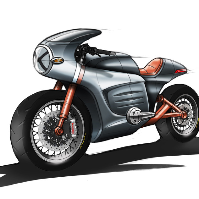 Bike Concept Design image 1 – Vehicle design by Sebbahi Solutions Ltd. – Automobile designing