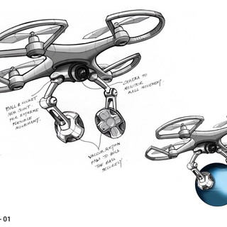 Drone Concept Design – By Sebbahi Solutions product designers team