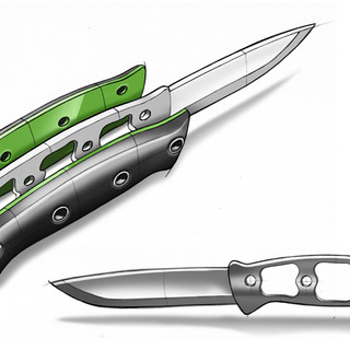 Camping knife concept design # 02