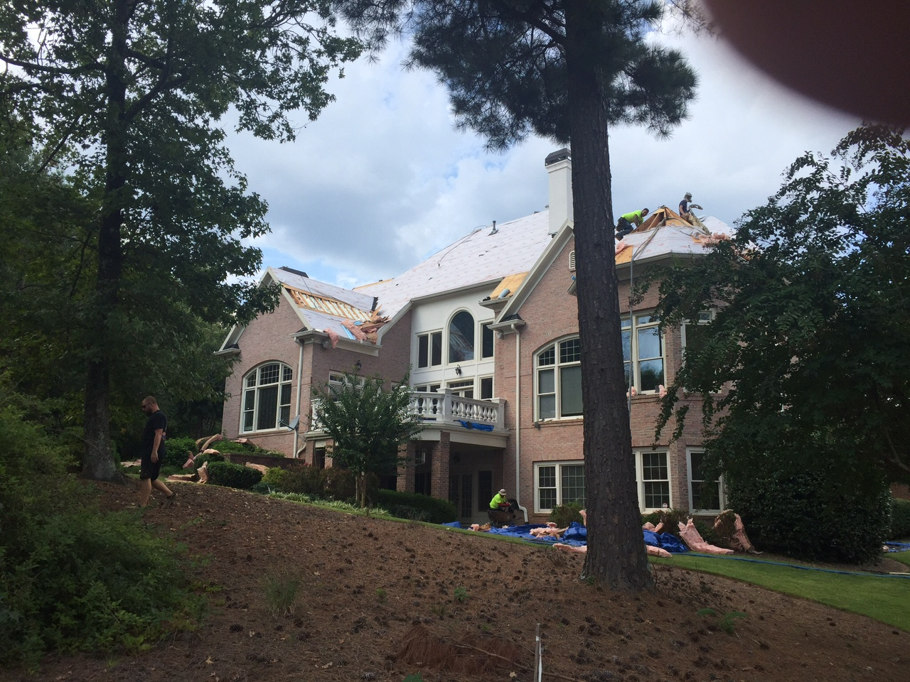 Roof Removal Project