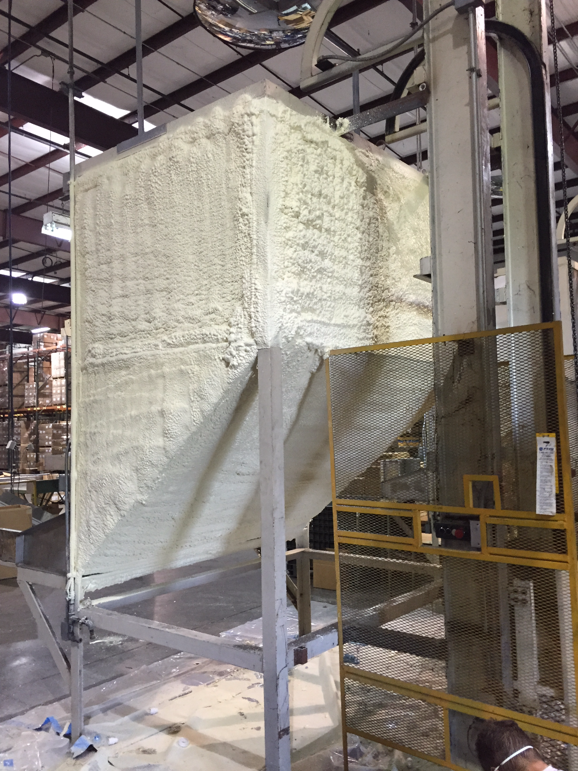 Spray Foam Industrial Tank