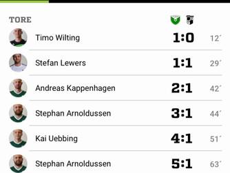 1. Mannschaft SV Burlo - Saisonauftakt geglückt