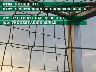 II.Mannschaft des SV Burlo am Sonntag im heimischen Vennestadion