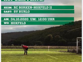 1. Mannschaft - Auswärtsspiel in Hoxfeld