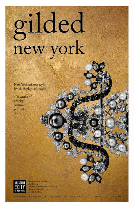 Gilded New York Poster
