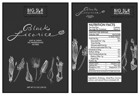 Big Sur Black Licorice