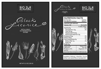 Big Sur Black Licorice