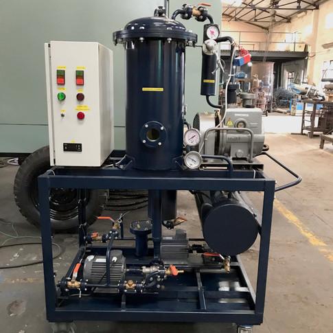 Open machine mounted on Castor Wheels