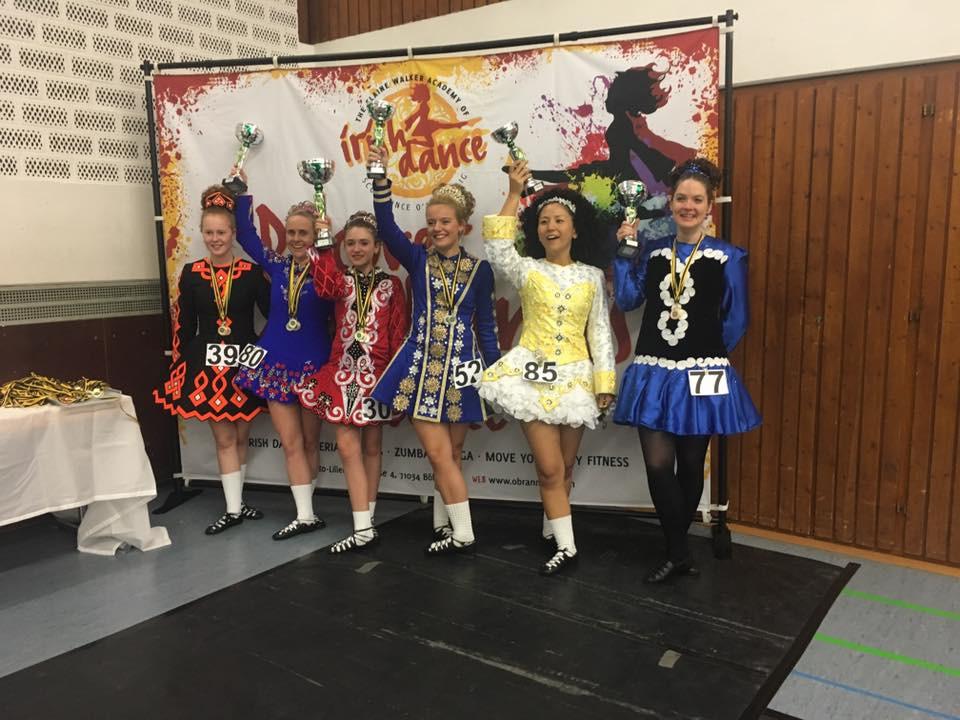 Irish Dance champions