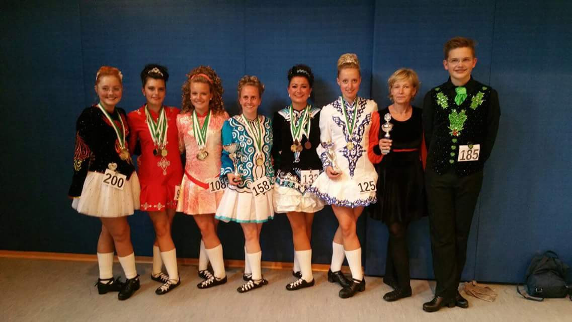 Irish Dance winners