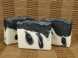 Charcoal and Coconut CP Soap