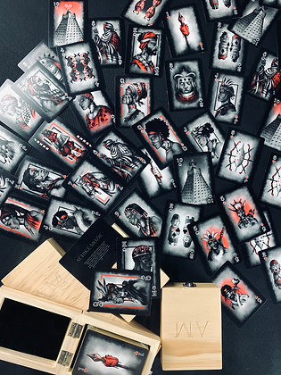 Achiké Mozie Heritage Playing Cards