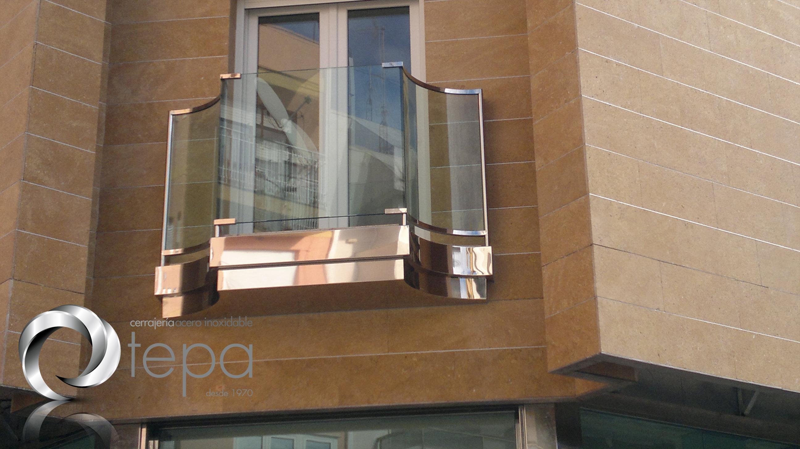 balcon inox