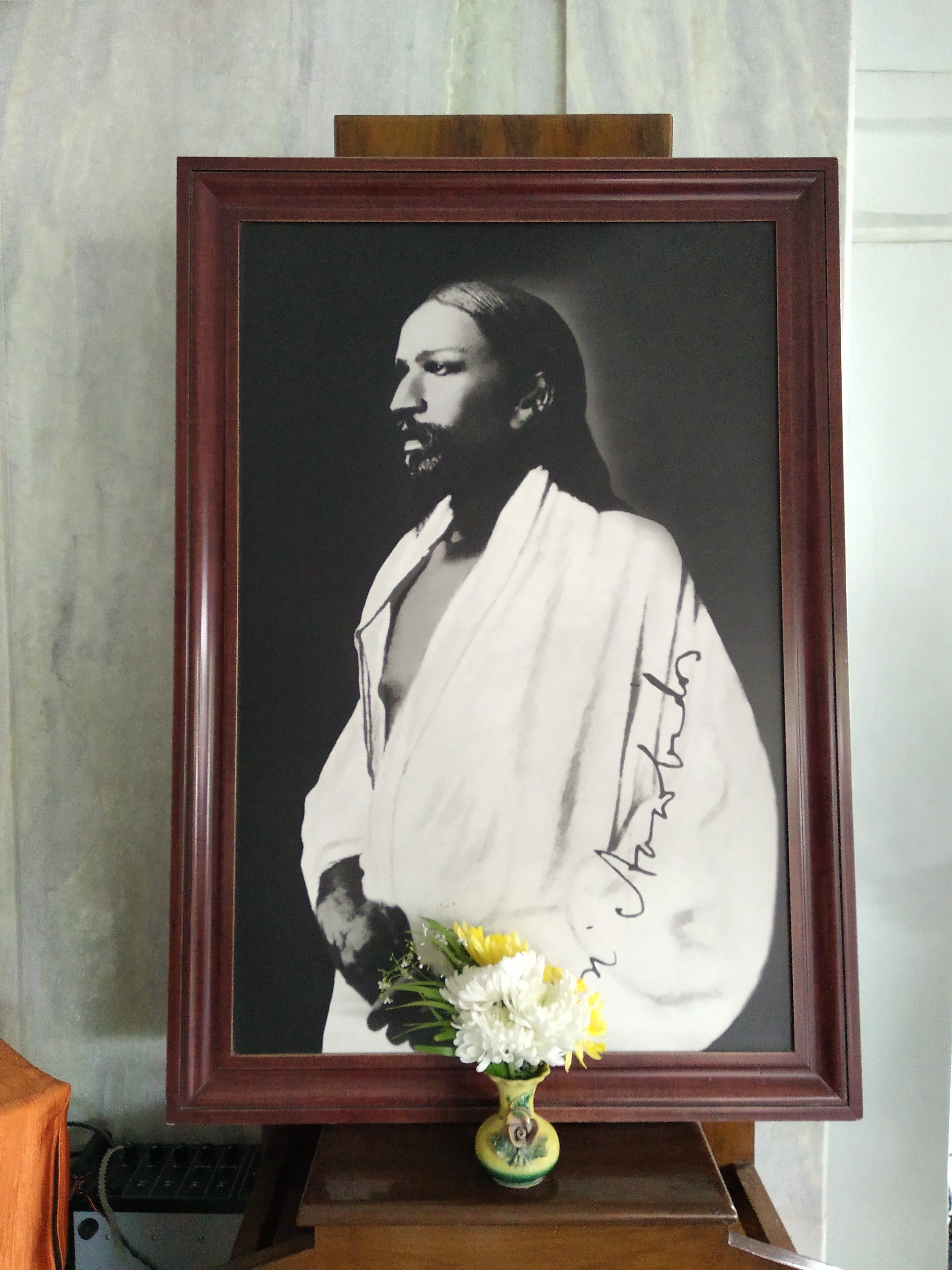 Sri Aurobindo at Lakshmi's House, Tollyg