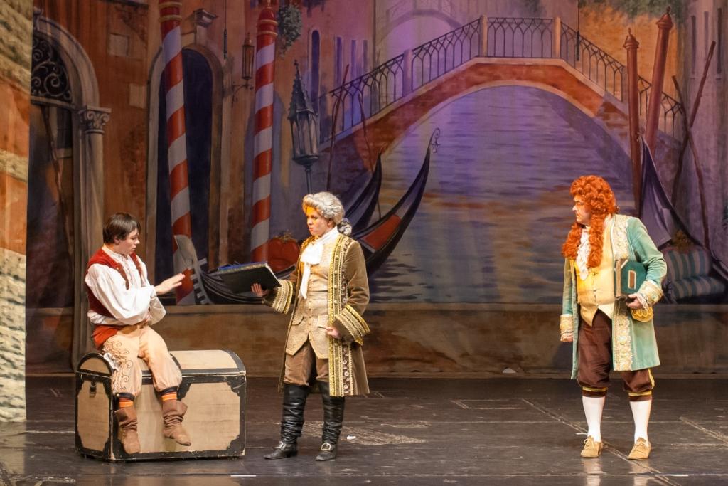 Труффальдино из Бергамо Петербургская оперетта Сергея Шалагина (25)