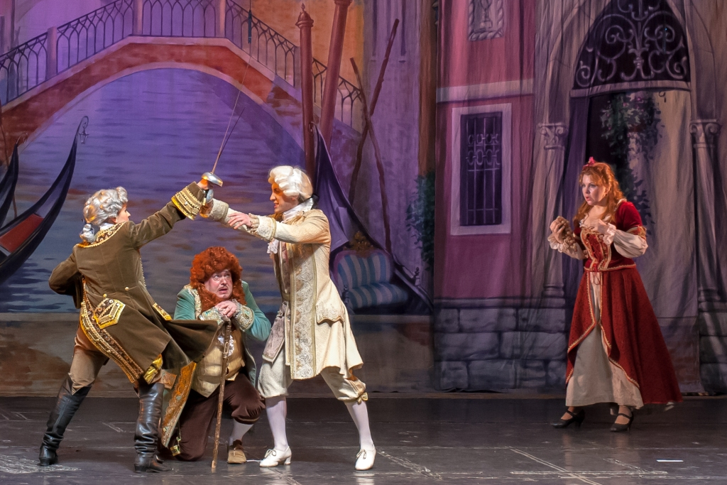 Труффальдино из Бергамо Петербургская оперетта Сергея Шалагина (16)