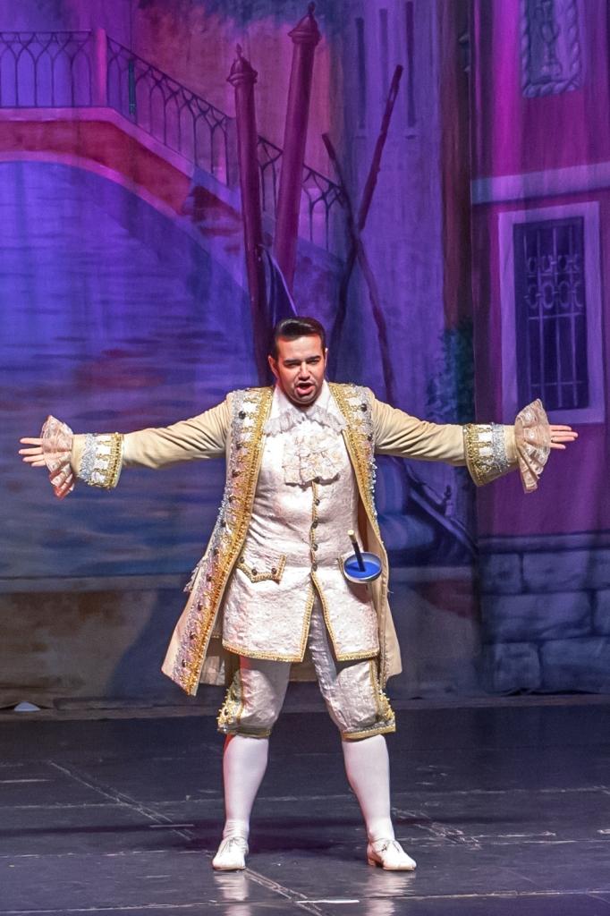 Труффальдино из Бергамо Петербургская оперетта Сергея Шалагина (15)