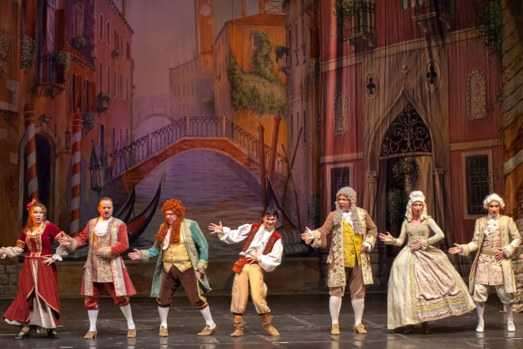 Труффальдино из Бергамо Петербургская оперетта Сергея Шалагина (19)