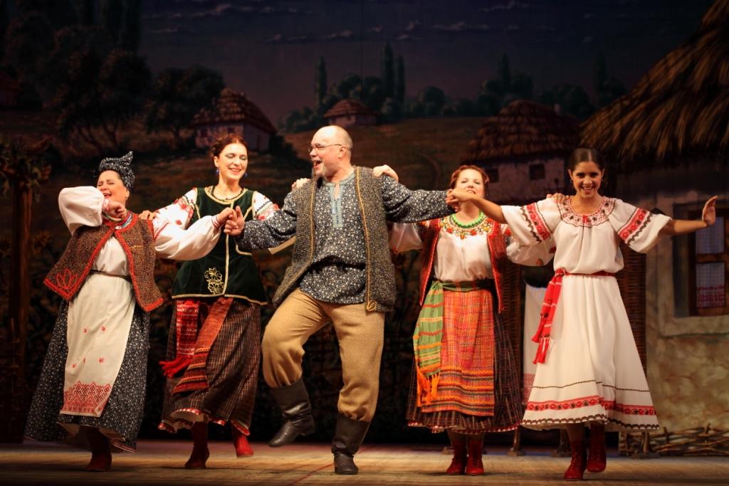 Свадьба в Малиновке Петербургская оперетта Сергея Шалагина (12)