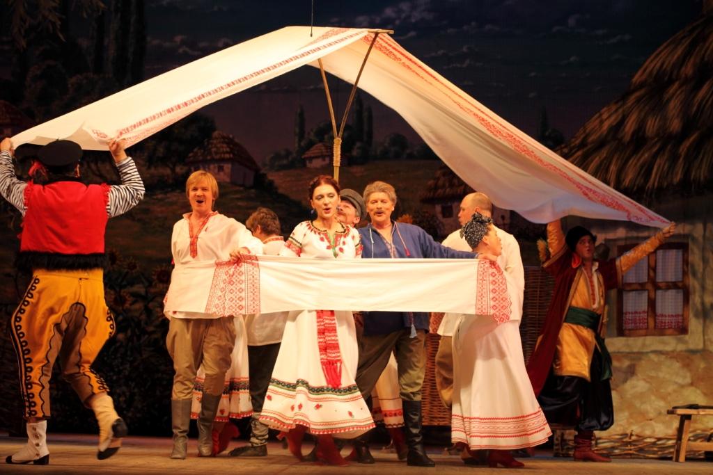 Свадьба в Малиновке Петербургская оперетта Сергея Шалагина (63)
