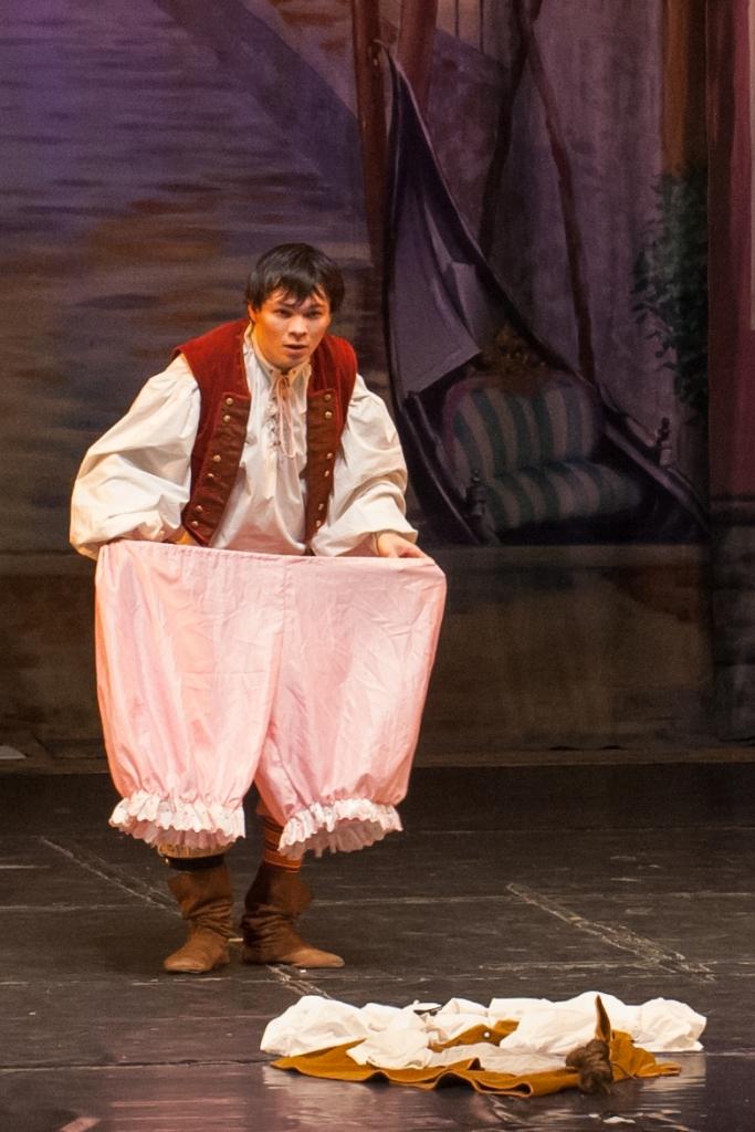 Труффальдино из Бергамо Петербургская оперетта Сергея Шалагина (23)