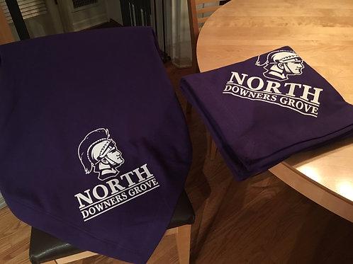 Purple North Fleece blankets