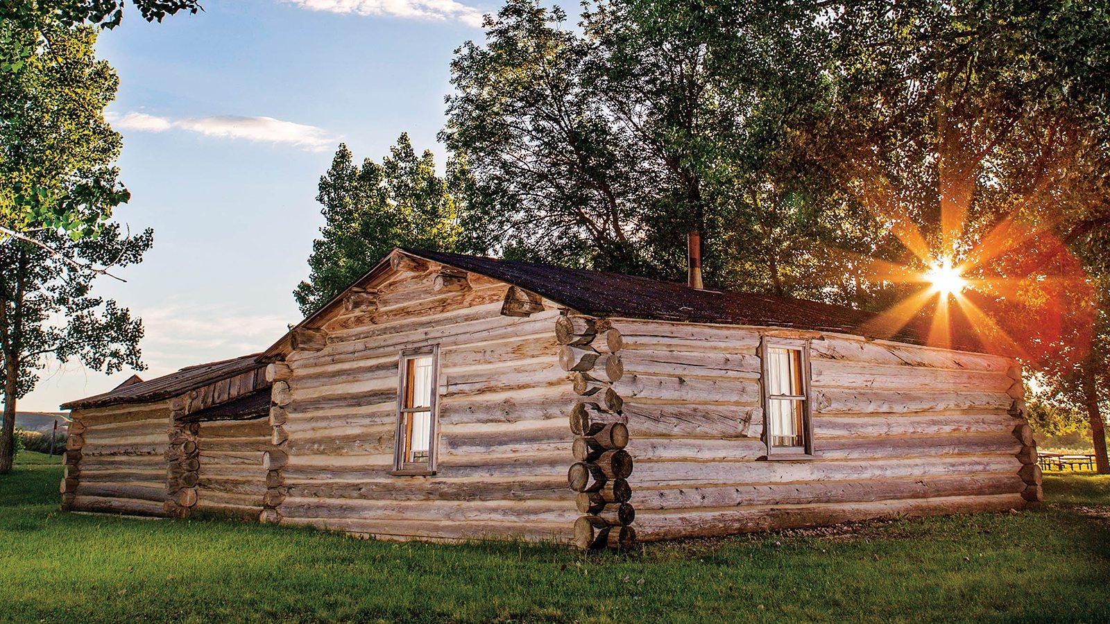John-Ware-Cabin-Cowboy