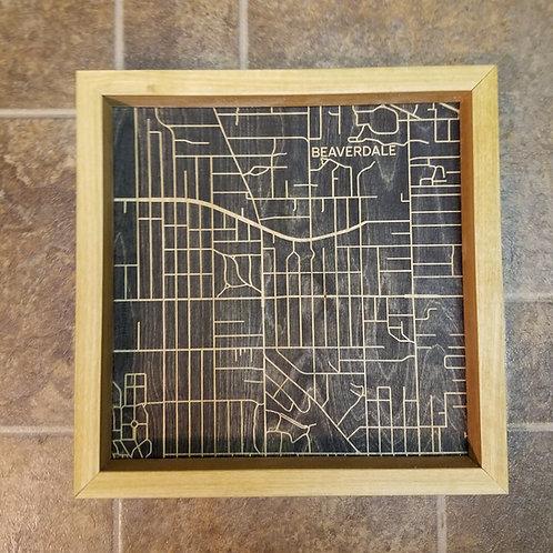 Beaverdale Map