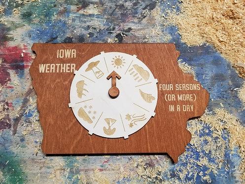 Iowa Weather Wheel