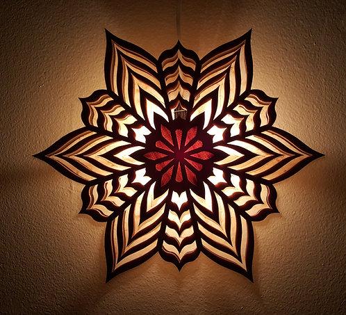 Wooden Star Lantern