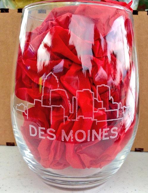 DSM Skyline Stemless Wine Glass