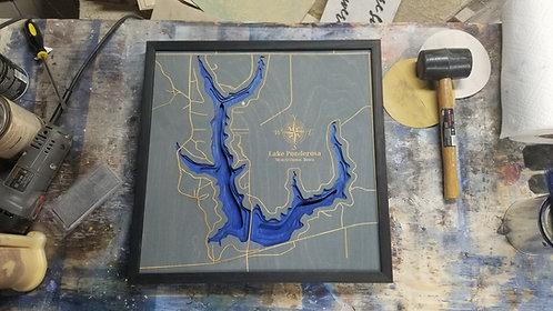 Ponderosa Lake Map