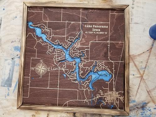 Lake Panorama Map