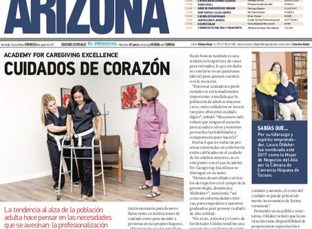 El Imparcial- Academy for Caregiving Excellence: Cuidados de Corazon