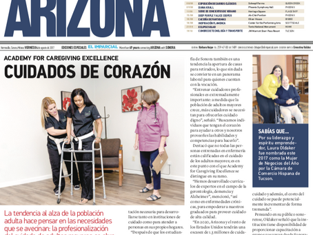 El Imparcial- Academy for Caregiving Excellence: Cuidados de Corazon