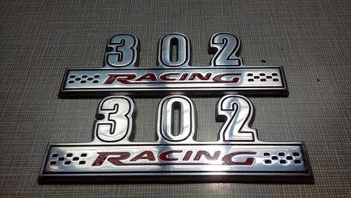 EMBLEMA 302 RACING - 10,7cm (Par)