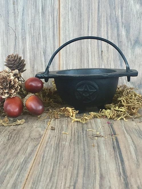 Witches Pentacle Cauldron