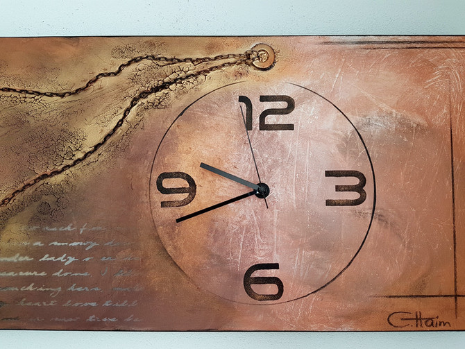 ARTwatch - Uhrwerk auf Leinwand!