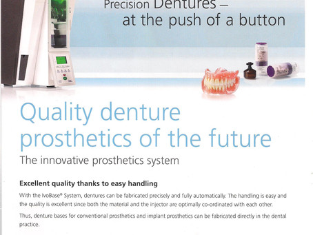 Ivoclar Vivodent Injection Moulded System