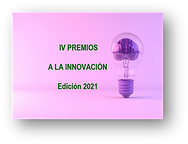 """Webinar: """"IV Premios a la Innovación"""" categoría mejor empresa / organización innovadora"""