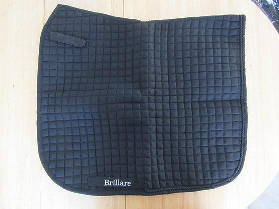 Brillare Plain Dressage Square Black